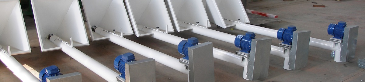 Grain augers with hopper and volume control shutter
